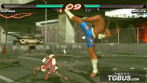 争取100%的还原 PSP《铁拳6》视频暨游戏截图